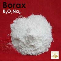 BORAX - Improves glaze's frit and produces brighter vivid colors