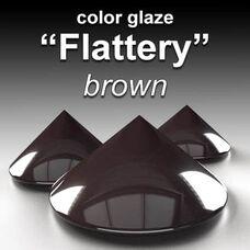 FLATTERY brown - Color Glaze Gloss Semi-transparent BASF