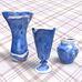 Bild Foto für Blauer Pilz - Steingut Keramik Effektglasur von Johnson Matthey