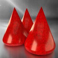 CARDINAL RED - Effect Glaze Satin Semitransparent Degussa