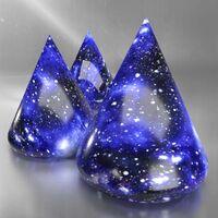 COSMOS DARK BLUE - Effect Glaze Gloss Semitransparent Degussa