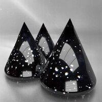 METEORITE BLACK - Effect Glaze Gloss Cover Degussa