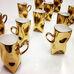 Bild Foto Glanzgold zur Dekoration von Porzellan, Steingut Keramik
