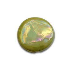 Lustres Lime - Yellow/Green gold lustre ceramics by Heraeus