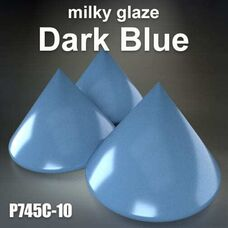 Milky Glazes Dark Blue by BASF