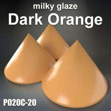 Milky Glazes Dark Orange by BASF