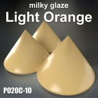 LIGHT ORANGE - Milky Glaze Gloss Cover opaque BASF