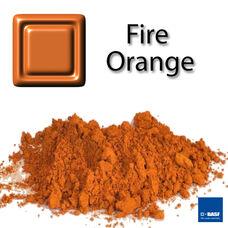 Bild Foto für Keramikpigment Dekorfarbe Feuerorange