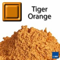 Tiger Orange - Keramik Pigment Dekorfarbe