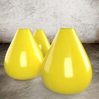 Aureolin Gelb - Steinzeug Glasur Satin Halbtransparent von Blythe Colours Limited