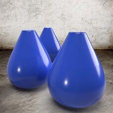 Byzantinisches Blau - Steinzeug Glasur Satin Halbtransparent von Blythe Colours Limited