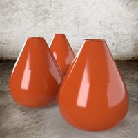 FLAME ORANGE - Stoneware Glaze Gloss Semitransparent by Blythe Colours Limited