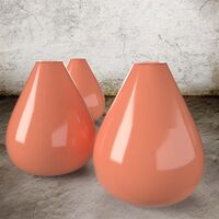 Lachsorange - Steinzeug Glasur Satin Halbtransparent von Blythe Colours Limited