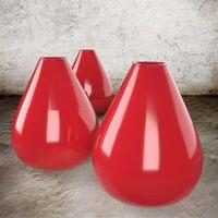 Venezianisch Rot - Steinzeug Glasur Satin Halbtransparent von Blythe Colours Limited