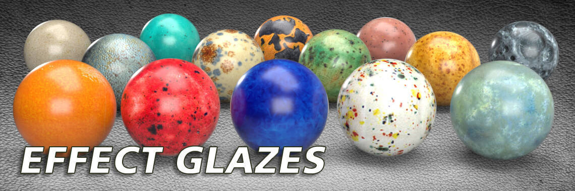 Effect Ceramic Glazes